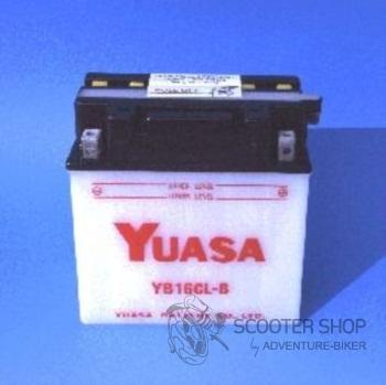 Baterie YUASA YUMICRON YB16CL-B