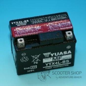 Baterie Yasa SUPER MF GELOVÁ YTX4L-BS