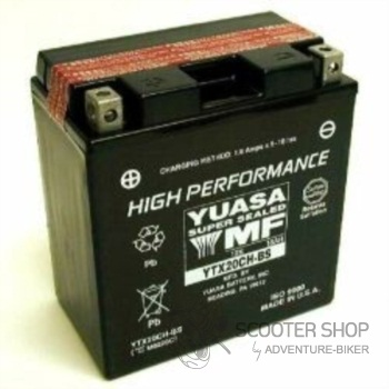 Baterie Yasa SUPER MF GELOVÁ YTX20CH-BS