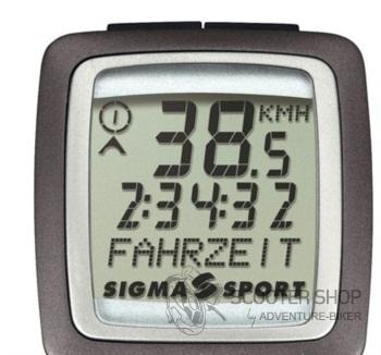 Digitální tachometr pro skútr Sigma BC1106