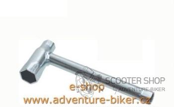 Klíč na svíčku 13x13x21 0200
