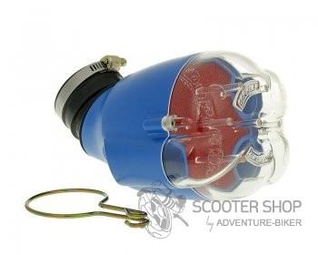 Vzduchový filtr DOPPLER průměr 28-35mm, modrý