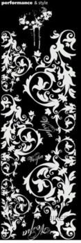 Dekorativní polep na skútr ORNAMENTY 1170x370mm (bílá)
