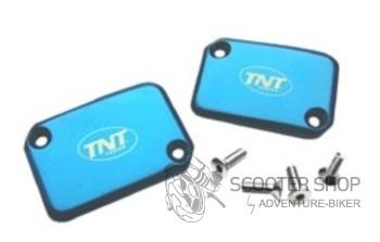 Krycí víčko brzdové kapaliny TNT modré
