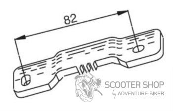 Blokace variátoru BUZZETTI - PIAGGIO/GILERA 50cc 2t - PURE-JET - 125cc 2t/4t - 5425
