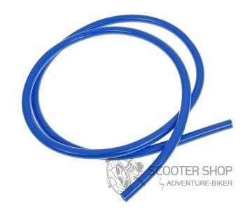 Benzinová hadice barevná průměr 5mm, délka 1metr - modrá