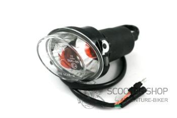 Blinkr na skútr levý přední, pro KYMCO QUAD MX 50,150,250,300