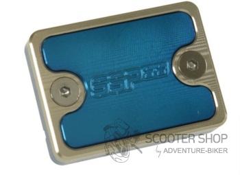 Krycí víčko brzdové kapaliny SSP,DERBI, GILERA, modré