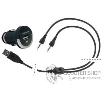 Auto/moto CL nabíječka pro jednotky Interphone F3XT/ F4XT/ F5XT