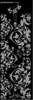 Dekorativní polep na skútr ORNAMENTY 1170x370mm (stříbrná)