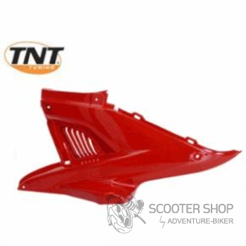 Boční plast levý TNT TUNING pro skútr MBK NITRO / YAMAHA AEROX - červený - 366747
