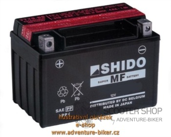 Baterie SHIDO YTX16-BS1