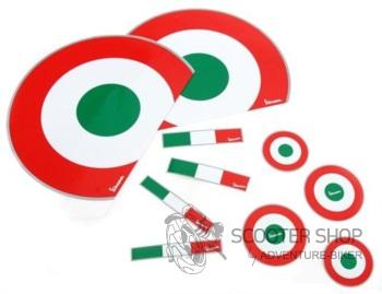Dekorativní polep na skútr ITALIA na skútry Vespa ET2/ET4/LX/LXV/S