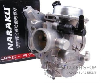 Karburátor RACING NARAKU CVK 32mm (125-300ccm) KYMCO a GY6 - 200.02