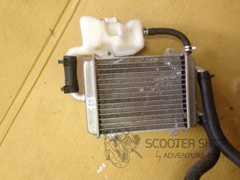 Chladič motoru na Peugeot Speedfight