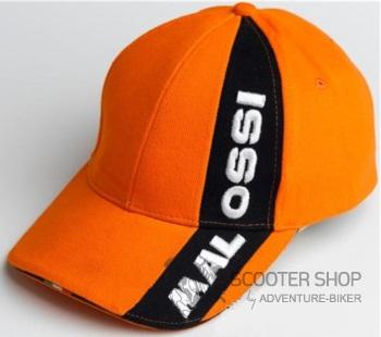 Čepice Malossi scooter - oranžová