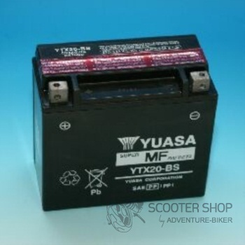 Baterie Yasa SUPER MF GELOVÁ YTX20-BS
