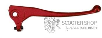 Brzdové páčky na skútr TNT, MBK Booster Spirit do 98, červené
