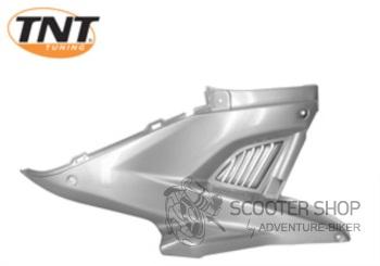 Boční plast pravý TNT TUNING pro skútr MBK NITRO / YAMAHA AEROX - stříbrný - 366728
