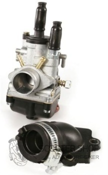 Karburátor SERIE PRO 19 MM pro Skútry s motorem MINARELLI HORIZONTAL 50 - SR1611042