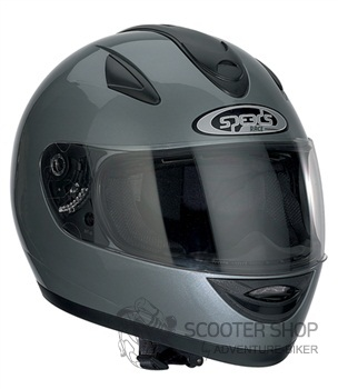 Integrální helma Speeds Race UNI titanová lesklá
