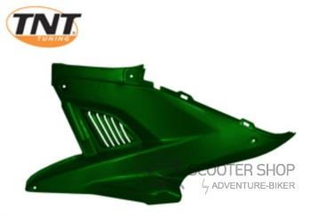 Boční plast levý TNT TUNING pro skútr MBK NITRO / YAMAHA AEROX - zelený - 366777