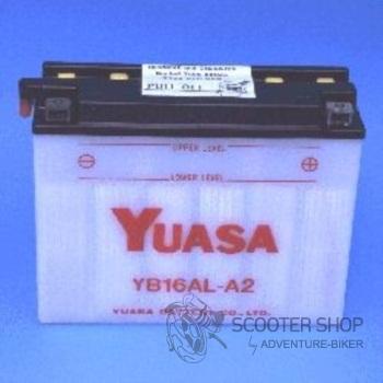 Baterie YUASA YUMICRON YB16AL-A2