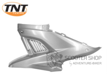 Boční plast levý TNT TUNING pro skútr MBK NITRO / YAMAHA AEROX - stříbrný - 366727