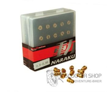 Hlavní tryska M4 sada NARAKU 10ks - 200.10