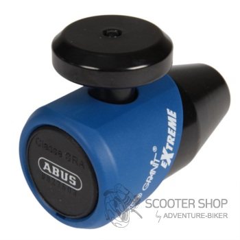 ABUS Granit Extreme 69 - zámek pro zabezpečení motocyklu - modrý