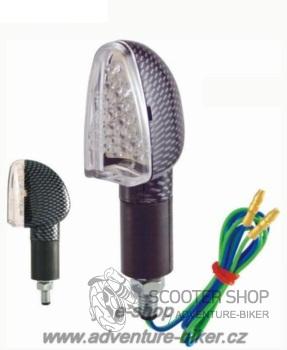 Blinkr LED karbon 0248