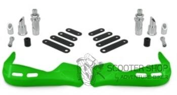 Chránič rukou na skútra TNT, zelený