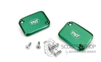 Krycí víčko brzdové kapaliny TNT zelené