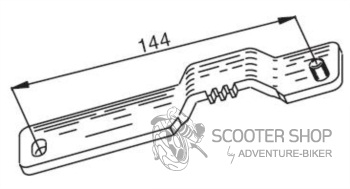 Blokace variátoru BUZZETTI - KYMCO 50cc 2t - 5580