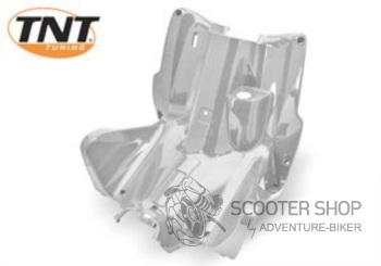 Přední kolenní plast TNT TUNING pro skútr MBK NITRO / YAMAHA AEROX - STŘÍBRNÁ - 366728A