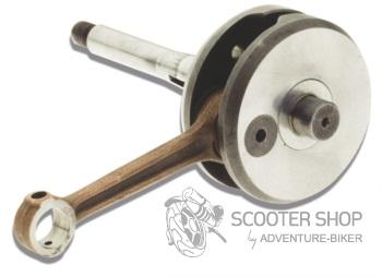 Kliková hřídel Malossi Sport na motory Piaggio Bravo/Ciao/SI čep 12mm - 53 1802