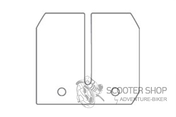 Jazýčkový ventil - karbonové štítky MALOSSI 0,30-0,35-0,40mm pro VESPA - 275614.C0
