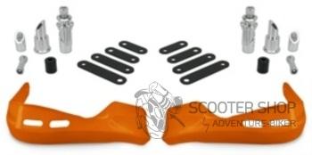 Chránič rukou na skútr TNT, oranžový