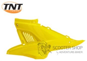 Boční plast levý TNT TUNING pro skútr MBK NITRO / YAMAHA AEROX - ŽLUTÝ - 366799H