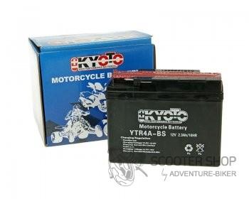Baterie Kyoto 12V YTR4A-BS MF - Honda X8R (YTR4A-BS, GS GTR4A-5, FB FTR4A-BS)