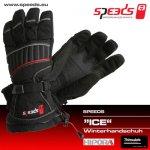 SPEEDS zimní rukavice ICE černé - 8 velikostí