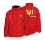 Bunda s kapucí Malossi (scooter - skútr) červená XXL/58 - 418434.70