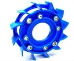 Ventilátor chlazení NARAKU SPORT modrý - 800.10