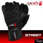 Rukavice na skútr letní SPEEDS Street Man (pánské) černé - 8 velikostí