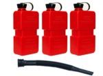 Skútr - moto - ATV kanystr Fuelfriend 1,5L červený - 3Ks - výhodná sada s jednou nálevkou