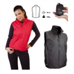 TUCANOURBANO NANO WIND GILET - pánská/dámská vesta červená 750-R