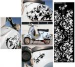 Dekorativní polep na skútr ORNAMENTY 1170x370mm...