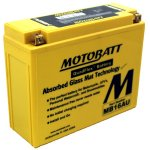 Baterie MOTOBATT MB16AU ( 12V 20,5AH ) komp. Yuasa YB16AL-A2