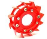 Ventilátor chlazení NARAKU SPORT červený - 800.11