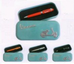 Masivní stylové kuličkové pero Vespa v originálním dárkovém balení